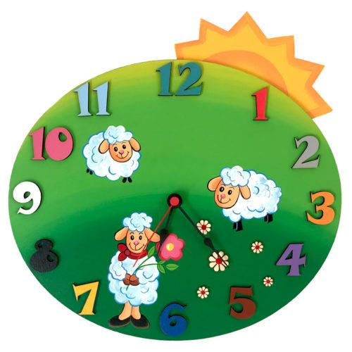 Dětské hodiny Louka