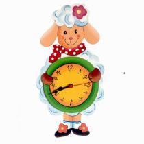 Dětské hodiny Ovečka