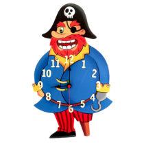 Dětské hodiny Pirát