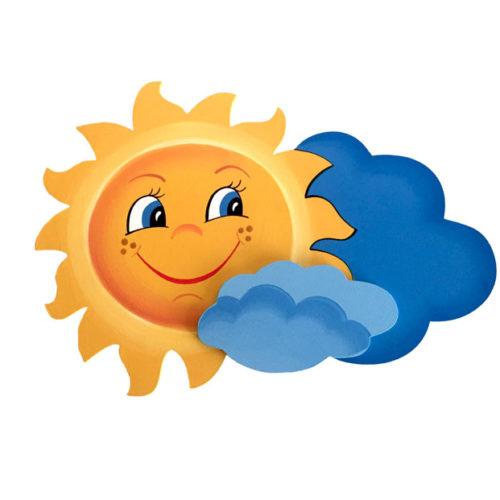 Dětská dekorace Sluníčko