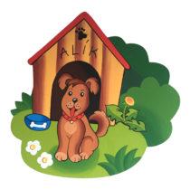 Dětská dekorace Pejsek