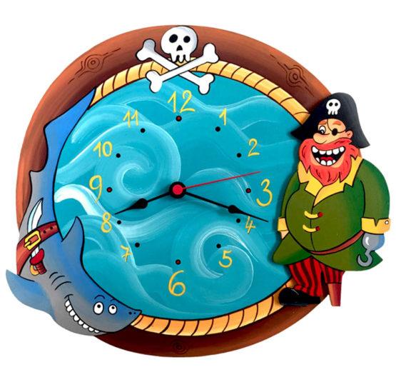 Dětské hodiny Pirátské – malé