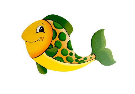 Rybka zelená