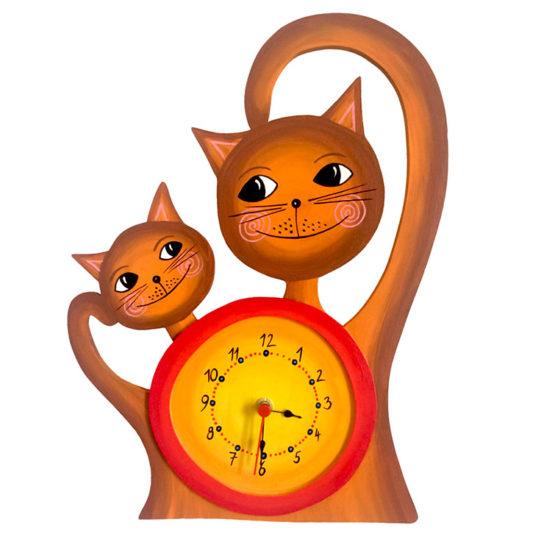 Dětské hodiny Kočičky