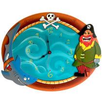 Dětské hodiny Pirátské