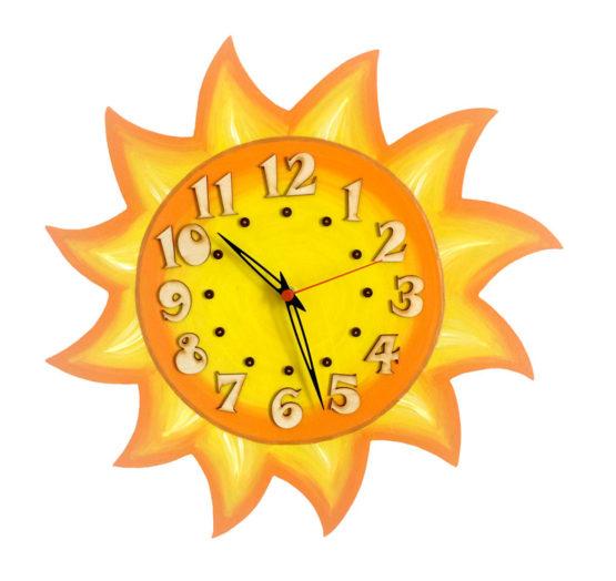 Dětské hodiny Sluníčko