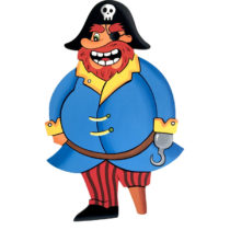 Dekorace Pirát