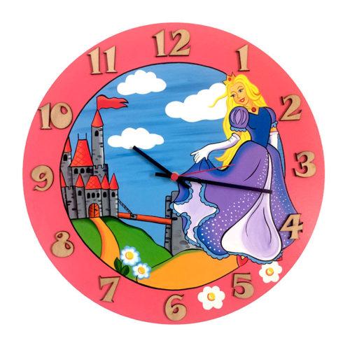 Dětské hodiny Princezna