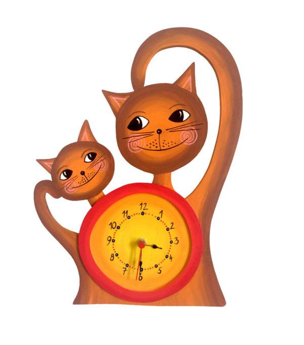 hodiny Kočičky