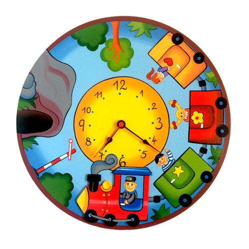 Dětské hodiny vláček