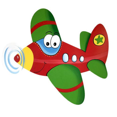 Letadélko Felix červené
