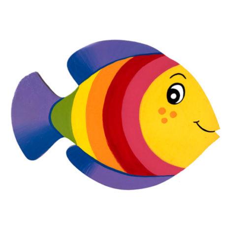 Dětská dekorace Rybka Duhovka