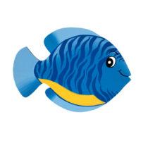Rybka Zebrovka – modrá