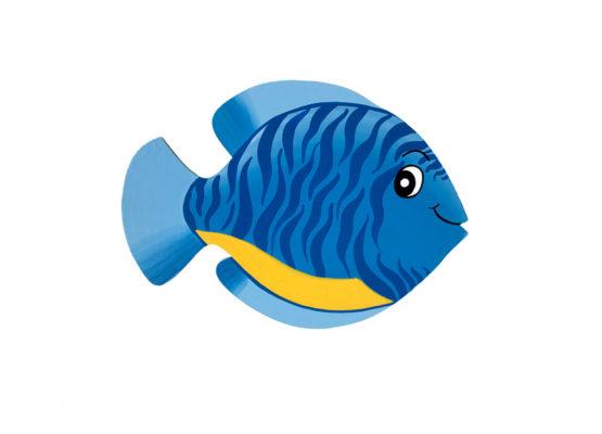 rybka Zebrovka modrá