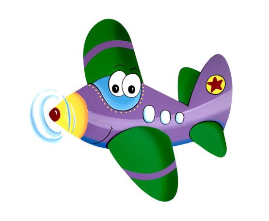 Letadélko Felix fialové