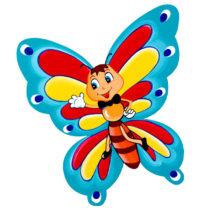 Dětská dekorace Motýlek Bertík