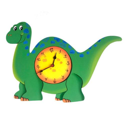 Dětské hodiny Dinosaurus