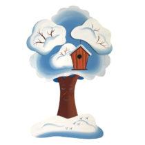 Dětská dekorace zimní Jabloňka