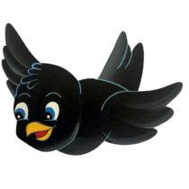 Dětská dekorace ptáček Kosík