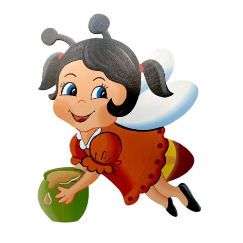 Dětská dekorace včelka Anka
