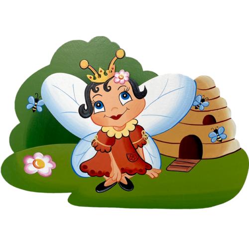 Dětská dekorace včelka královna