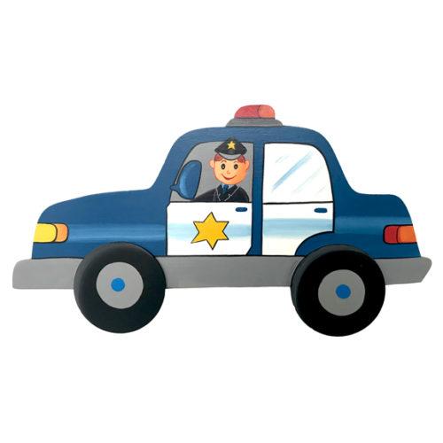 Dětská dekorace policejní auto