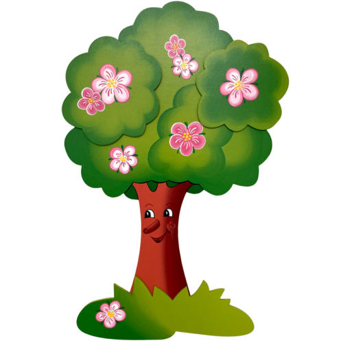 Dětská dekorace Jabloňka jarní