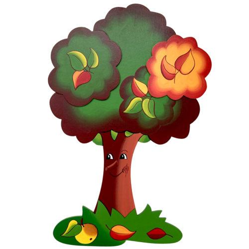 Dětská dekorace Jabloňka podzimní